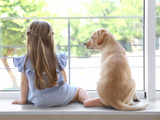 Kind und Hund: Die 10 Regeln für Kinder im Umgang mit Hunden - Bild: © Africa Studio/stock.adobe.com